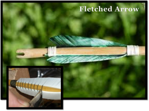 Fletched Arrow